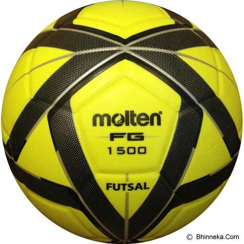 ef5a31adf8bc3 MOLTEN Bola Futsal F9G1500 - Lime Black